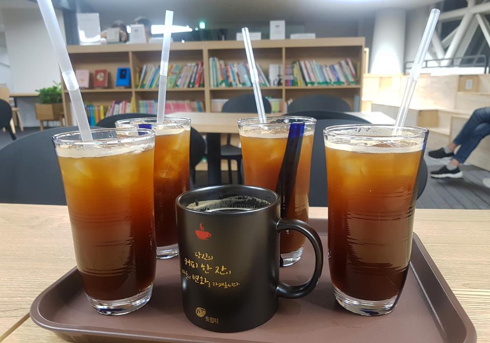[워드프레스 구축업체 메타브레인] 뚝섬유원지역 카페