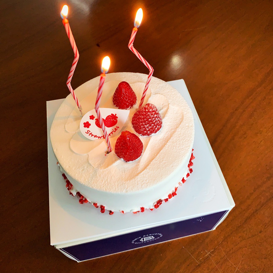 [워드프레스 구축업체 메타브레인]4월 생일파티 케이크